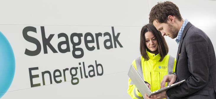 Aktiv FoU aktivitet ved Skagerak Energilab
