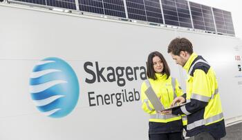 Energilager på skagerak Energilab med aktive medarbeidere i front.